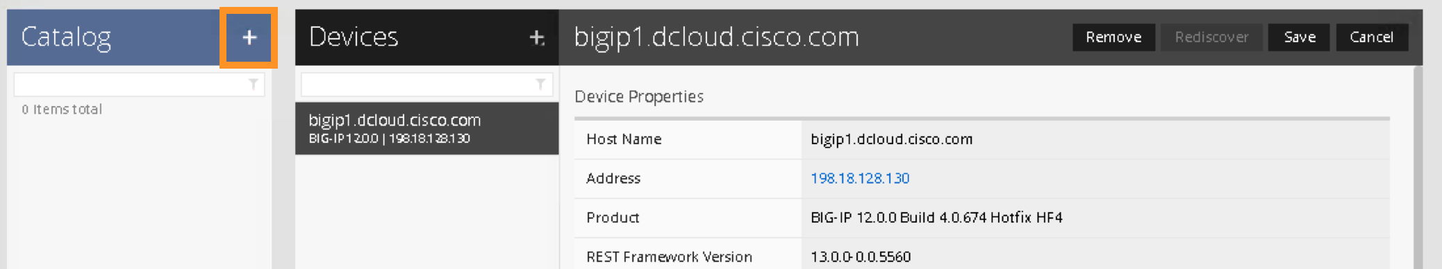 2 2  Deploy Service Graph using F5 iApps in Cisco ACI with F5 iWorkflow